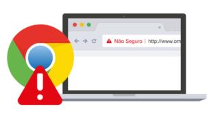 alerta - Certificado de segurança  SSL